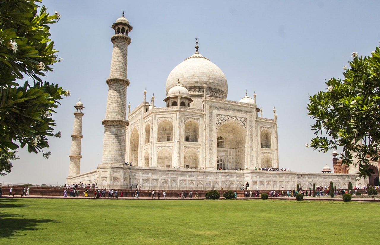 Visit Taj Mahal in India