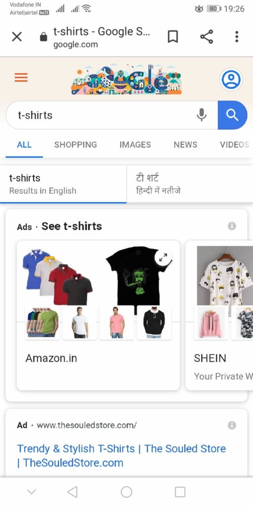 Google Introduces a New Shopping Section in Search Results
