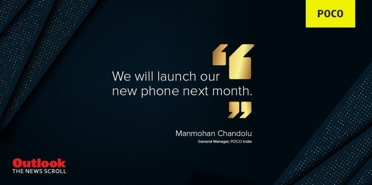 Poco Will Launch New Smartphone in Next Month