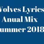 Wolves Lyrics Anual Mix Summer 2018