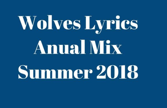 Wolves Lyrics Anual Mix Summer 2018