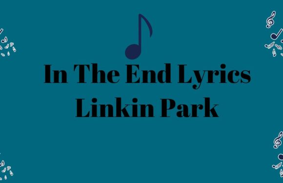 In The End Lyrics Linkin Park